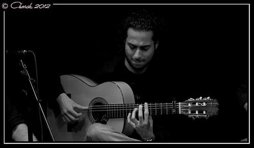 El guitarrista Johny Jiménez. Foto: Jorge Biancotti