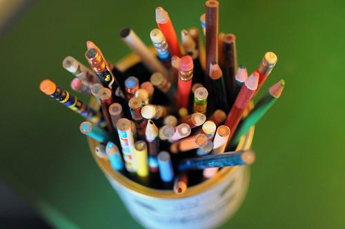 colored penciles