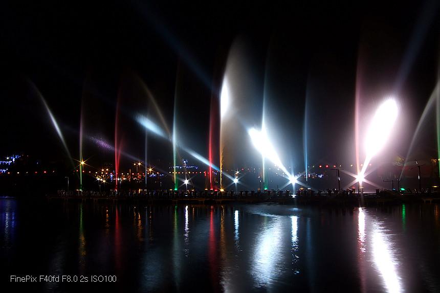 2013 高雄岡山燈會水舞 <FinePix F40fd版>