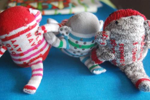 Mini Sock Monkeys