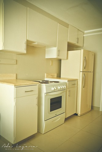 Kitchen area at Subic Homes