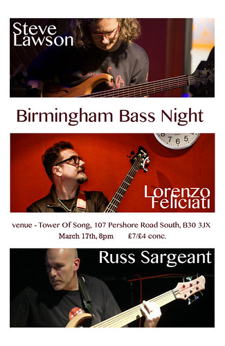 flyer for birmingham bass night