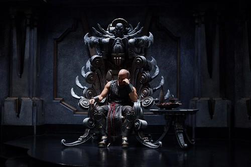 Riddick On A Throne