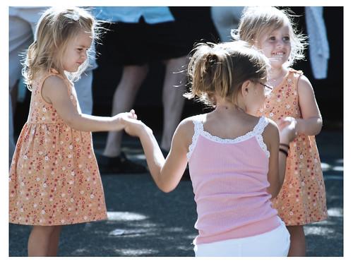 Three Girls at Los Altos Festival