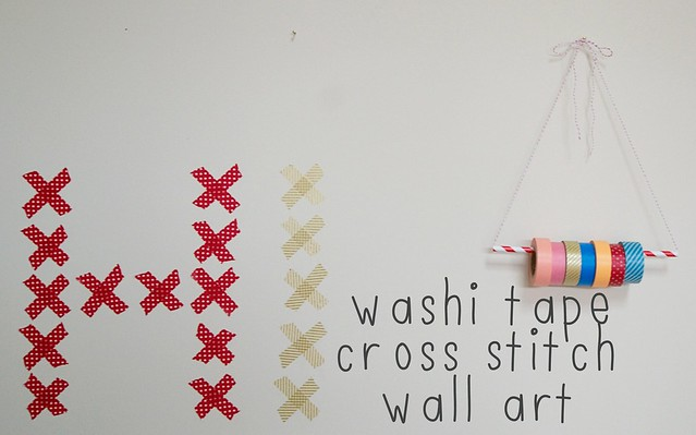 washi_tape_cross_stitch_wall_art