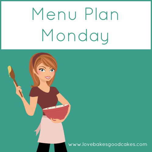 lbgc - menu plan monday