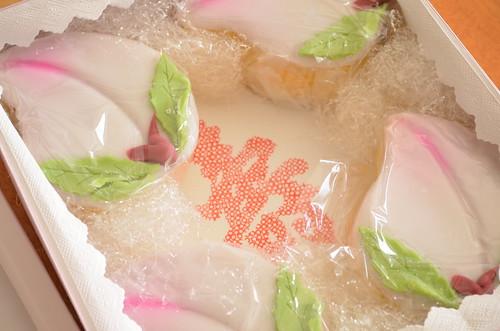 桃カステラ 長崎のお祝いお菓子 ひな祭り