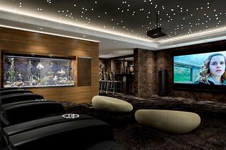 instalaltion de vid oprojecteur dans une habitation. Black Bedroom Furniture Sets. Home Design Ideas