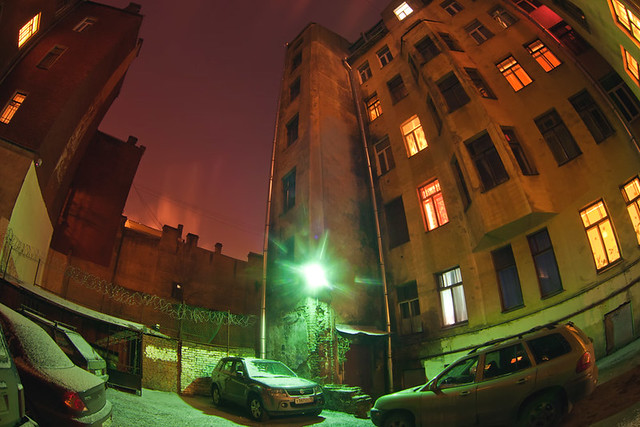 St.Petersburg Backyards
