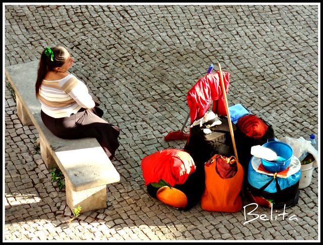 Colourful belongings