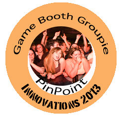Image of the Game Booth Groupie Badge