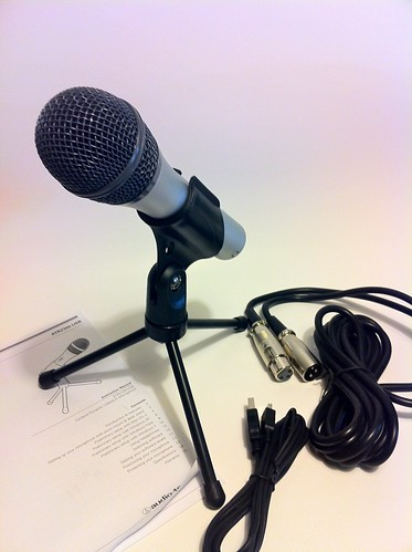First Impressions: Audio-Technica ATR2100-USB Micrphone - 12