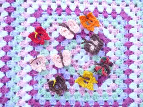 Shirly (USA) Your Butterflies and Squares have arrived thank you!