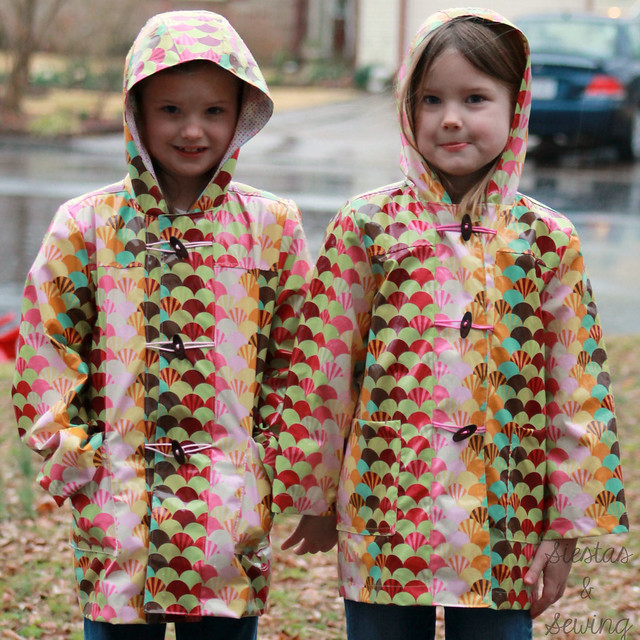 School Days Raincoat x2