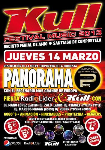Orquesta Panorama 2013 - Festival Kull - cartel