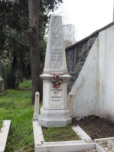 Feriköy temető - Szilágyi Dániel sírja