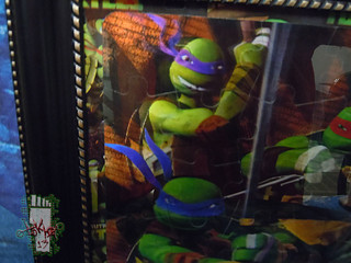 CARDINAL :: Nickelodeon TEENAGE MUTANT NINJA TURTLES - 48 Piece Lenticular Puzzle // tOkKustom matte & framed iii  (( 2012 ))