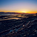 White Rock Beach at Twilight by TOTORORO.RORO
