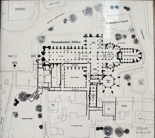 Westminster Abbey Floor Plan It Would Take A Lifetime To
