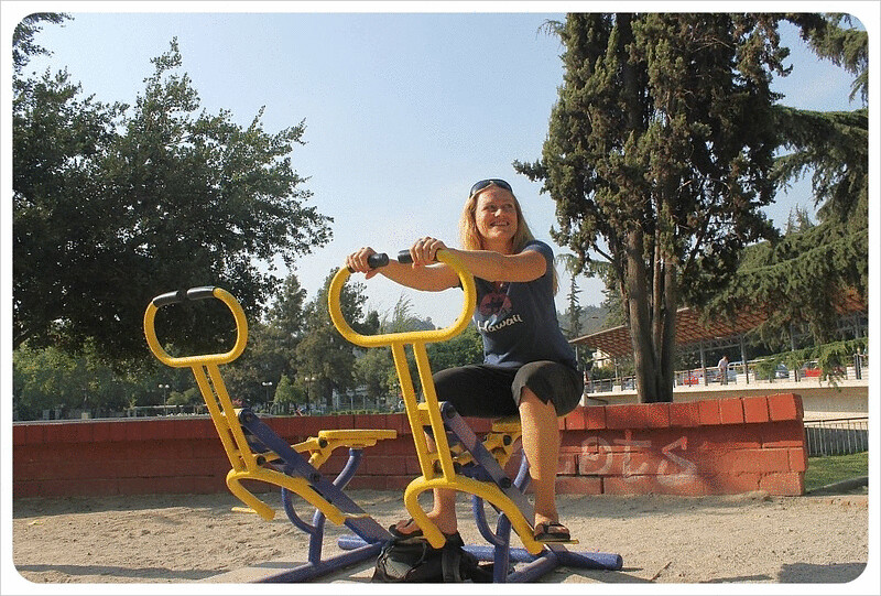 Santiago workout machines