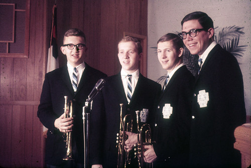 1964-65 CSGroups Ambassadors dk blazers