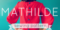Mathilde Blouse sewing pattern