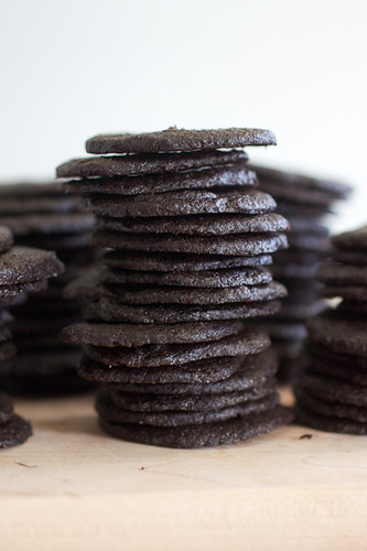 diy chocolate wafer cookies