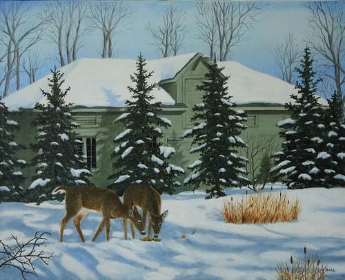Assiniboine Park Leo Mol Garden by Sid's art