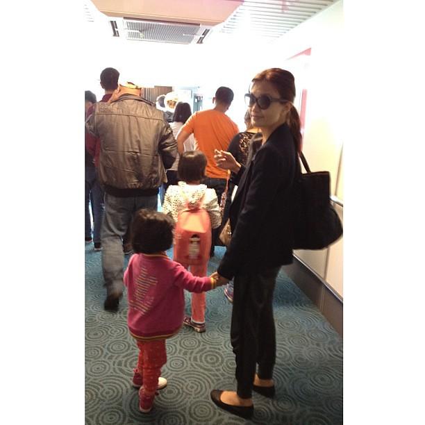Airport adventures.