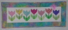 Tulips Project Quilting End of Season 4