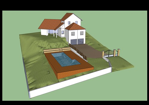 Piscine bloc bancher beton 12m 4 2m piscines r alisations for Construction piscine sur terrain non constructible