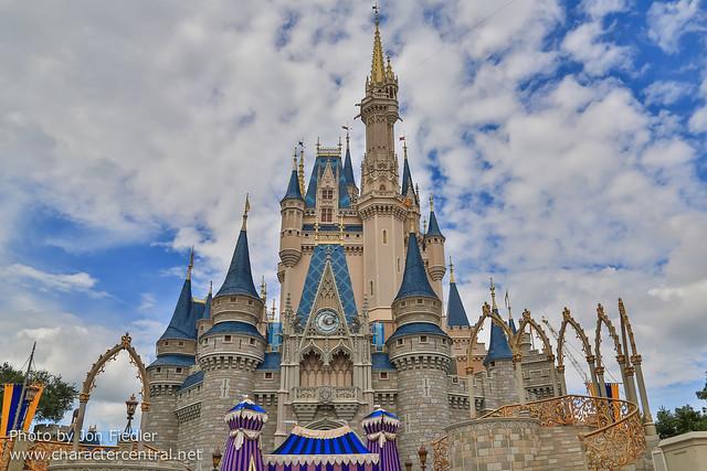 WDW Sept 2012 - Cinderella Castle