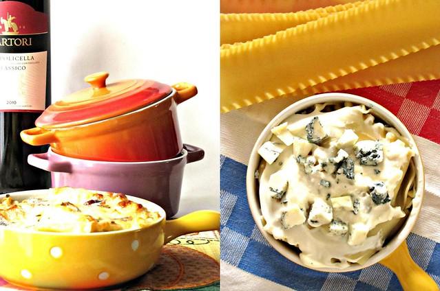 Lasagne con Crema di Gorgonzola e Finocchietto Selvatico