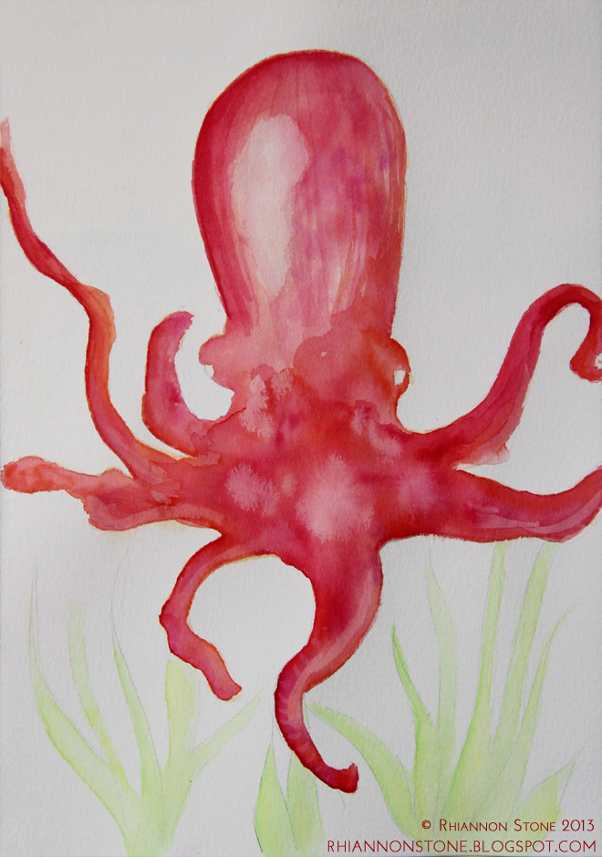 Octopus (WIP) For Sale_blog