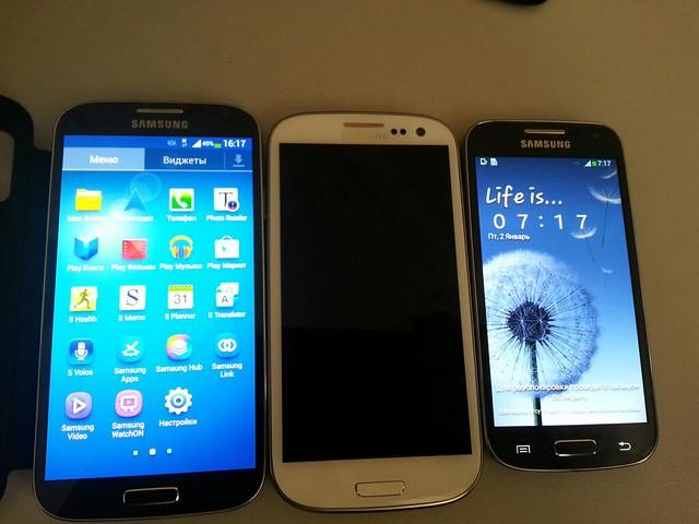 เปรียบเทียบ Galaxy ทั้งสามรุ่น