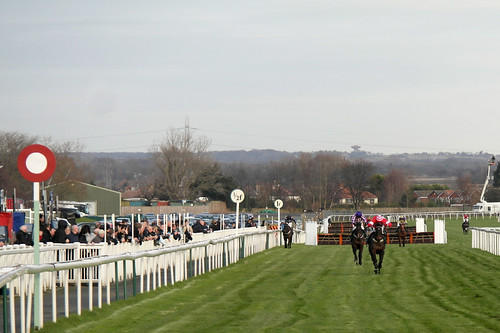 Finishing Post At Aintree