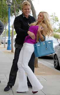Heidi Montag Flared Jeans Celebrity Style Women's Fashion