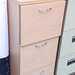 Beech 3 drawer filing cabinet