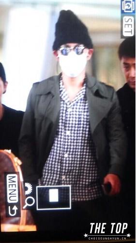 Big Bang - Incheon Airport - 26jul2015 - The TOP - 01