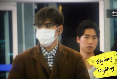 TOP - Incheon Airport - 05nov2015 - BigbangFighting - 01