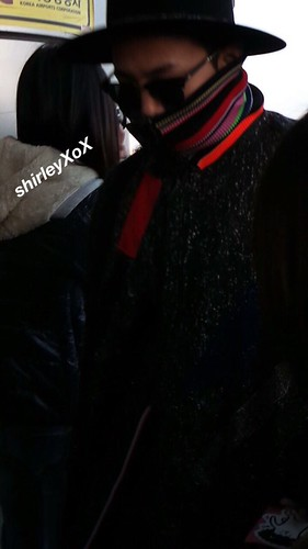 Big Bang - Gimpo Airport - 15jan2015 - G-Dragon - ShirLey_XoX - 01