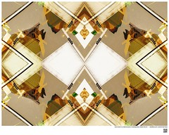 Modern Mandala Title: Lally-Cooler Is a Real Success or Building Detail  Studio City III  #BartRoss ©2016  #studiocity #mirrored #artists_magazine #abstractphotography  #artprints #sharingart #Curator #LAart #artistic_share #surreal42  #abstract