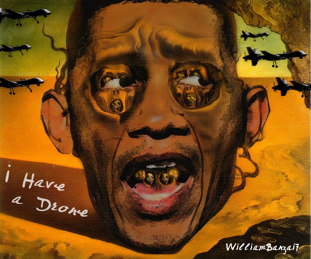 POX OBAMA (THE VISAGE OF DRONE WAR)