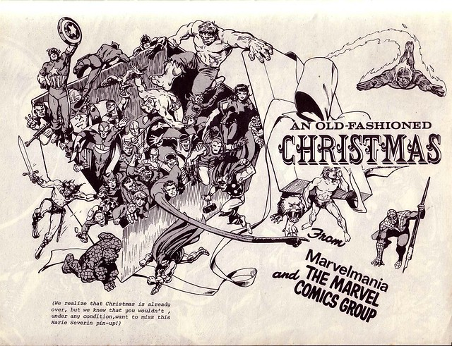 Marvelmania 6 - Old Fashioned Christmas by Marie Severin