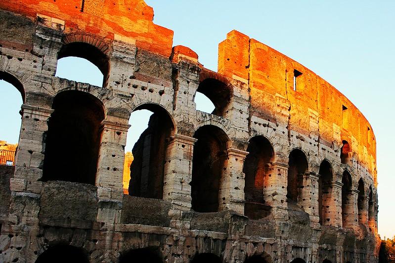 Colosseo. Roma, Italia
