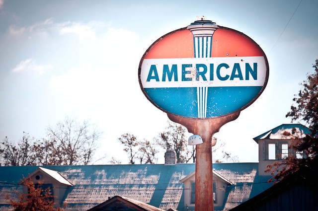 American Sign at The Shack Up Inn - Clarksdale, MS | PopArtichoke