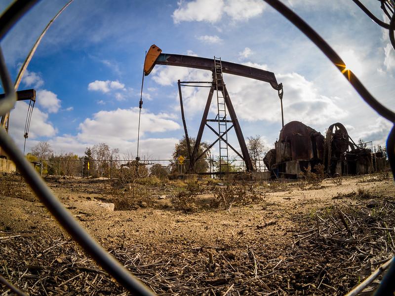 Oil pump in Bakersfield Park