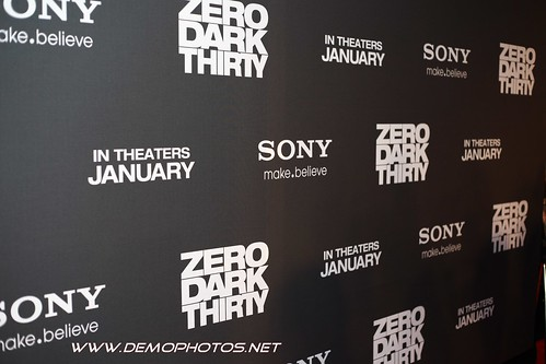 ZERO DARK THIRTY MOVIE PREMIERE by DEMO PHOTOS by DeMond Younger