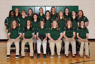 Mason girls bowling team