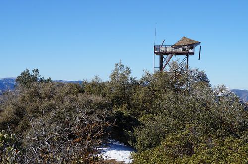 Cuyama Peak Fire Lookout